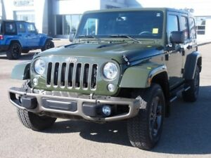 2016 Jeep Wrangler Unlimited 75th Anniversary. Text 780-205-4934