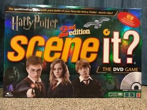 Harry Potter Scene It 2nd Edition DVD Board Game- $30