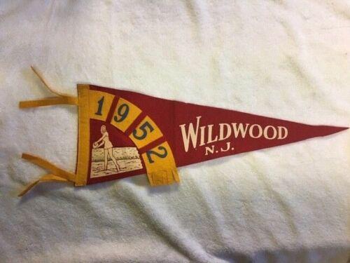 Vintage Wildwood, NJ. 1952 Banner
