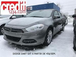 2013 Dodge Dart SXTÀ PARTIR DE 45$/SEM. 100% APPROUVÉ!
