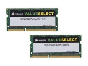 CORSAIR SODIMM RAM pour laptop, 32GB (4 x 8GB)