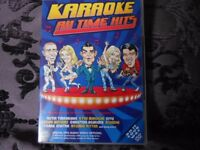 Karaoke DVD. Greatest all time hits.