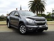 2014 Holden Colorado RG MY15 Storm Crew Cab Grey 6 Speed Sports Automatic Utility Medindie Gardens Prospect Area Preview