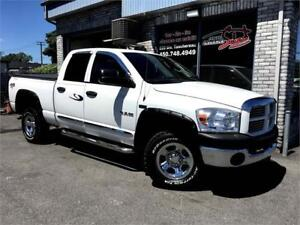 2008 Dodge Ram 1500 BIG HORN 4X4 5.7L HEMI QUAD CAB