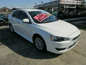 2013 Mitsubishi Lancer CJ MY13 LX Sportback 6 Speed CVT Auto Sequential Hatchback