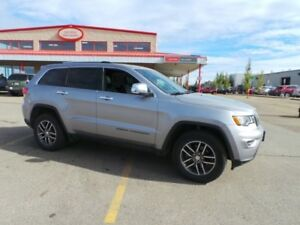 2017 Jeep Grand Cherokee 4WD LIMITED Accident Free,  Leather,  S