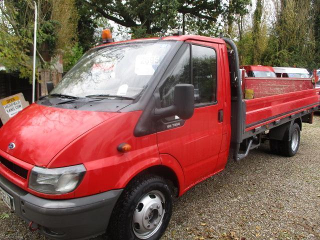 2004 Ford Transit 2.4TDI DROPSIDEPICK UP T350 LWB Extended Frame TAIL LIFT