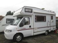 ELDDIS AUTOSTRATUS SE, FOUR BERTH, END KITCHEN MOTORHOME FOR SALE
