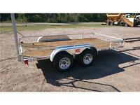 WINTER CLEARANCE**  2016 New 6x12 Tandem Galvanized trailer