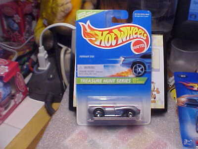 Hot Wheels 1996 Treasure Hunt #3 Ferrari 250 with Real Riders