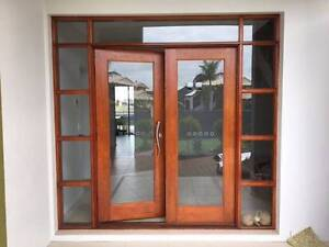 Gorgeous timber and glass double door Cleveland Redland Area Preview