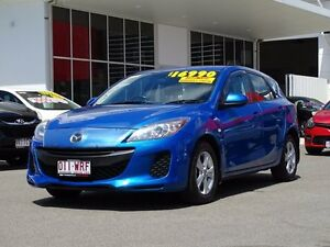 2013 Mazda 3 BL10F2 MY13 Neo Activematic Blue 5 Speed Sports Automatic Hatchback Garbutt Townsville City Preview
