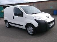 Peugeot Bipper 1.3 HDI 75 BHP S VAN DIESEL MANUAL WHITE (2013)