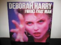 Five Collectable Debbie Harry 12 inch Vinyl Singles