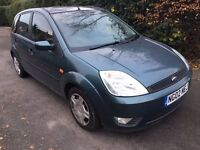 Ford Fiesta Zetec 1.4 5 door 12 months mot 77,000 miles cheap car
