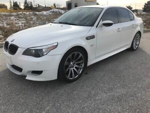 2008 BMW 5-SERIES 500 HP|LOW KMS|LEATHER|GLASS SUNROOF|SENSORS