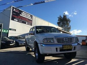 2005 Mazda B4000 Bravo SDX (4x4) White 5 Speed Manual Dual Cab Pick-up St Marys Penrith Area Preview