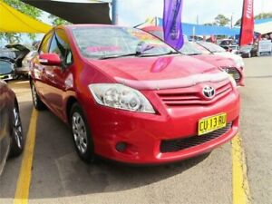 2011 Toyota Corolla ZRE152R MY11 Ascent Wildfire Automatic Hatchback Minchinbury Blacktown Area Preview