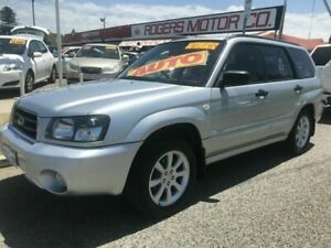 2004 Subaru Forester MY04 XS Luxury Silver 4 Speed Automatic Wagon