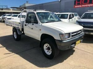 1999 Toyota Hilux RZN169R White 5 Speed Manual Utility Granville Parramatta Area Preview