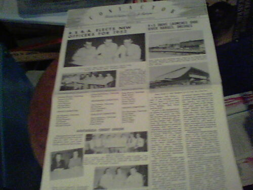 March 1952 Contactor Reliance Electric newsletter Ashtabula VS Drive Launches Oh