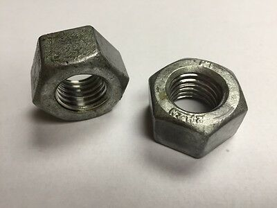 1//2-13 NC 2H Structural Nuts Hot Dipped Galvanzied 100 count