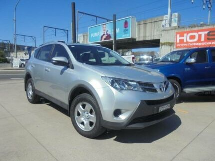 2013 Toyota RAV4 ZSA42R GX Silver Constant Variable Wagon Granville Parramatta Area Preview