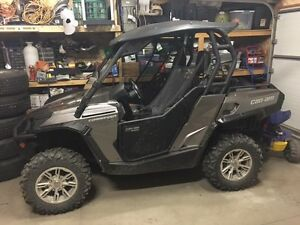 2013 Can Am Commander 800 w/Roof; 1/2 WShield; Snow Blade; Door Regina Regina Area image 4