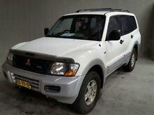 2001 Mitsubishi Pajero NM GLS LWB (4x4) White 5 Speed Auto Sports Mode Wagon Georgetown Newcastle Area Preview