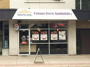 Great Business Opportunity - Be Your Own Boss! Souvlaki Hut