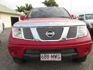 2010 Nissan Navara Red Automatic Mount Pleasant Mackay City Preview