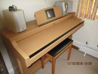 Roland H Pi-5 electronic digital piano for sale. In excellent condition, with manual/music book.