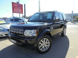 2009 Land Rover Discovery 4 Series 4 10MY TDV6 Black Auto Sports Mode Wagon Granville Parramatta Area Preview