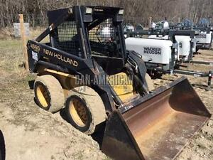 1997 NEW HOLLAND LX665 SKID STEER LOADER
