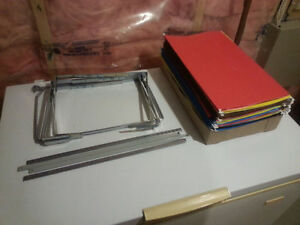 Legal Size folders and frames