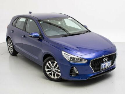 2019 Hyundai i30 PD2 MY19 Active Intense Blue 6 Speed Automatic Hatchback Jandakot Cockburn Area Preview