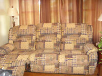 Reclining sofa in great condition