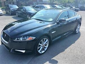 2014 Jaguar XF 3.0L V6 AWD NAVIGATION NOIR SUR LONDON TAN