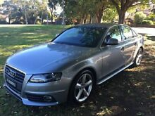 2008 Audi A4 2.0L QUATTRO SLINE Grey Manual Sedan Croydon Burwood Area Preview
