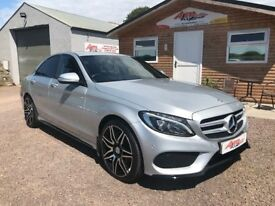 MERCEDES C220 AMG LINE SPORT 2015 NIGHT EDITION STYLING