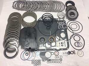 4l60E Master Rebuild Kit (97-03)w/pistons, corvette servo,steels,band,filter