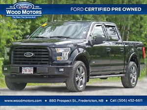 2016 Ford F-150 XLT (2.7L Ecooboost!) Certified Pre-Owned