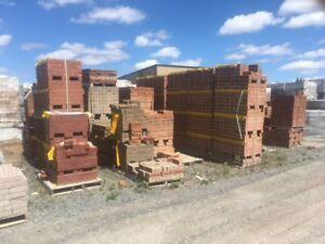 Briques d'argile