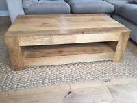 Stunning Mango wood coffee table