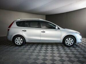 2012 Hyundai i30 FD MY11 SX cw Wagon Silver 4 Speed Automatic Wagon