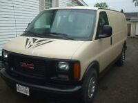 1999 GMC Savana, Cargo Van