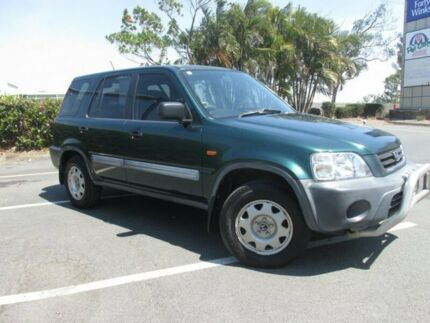 1999 Honda CR-V 4WD Green 4 Speed Automatic Wagon