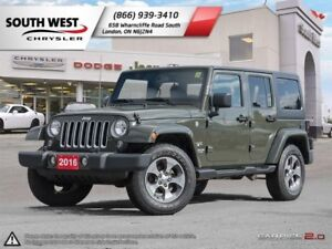 2016 Jeep Wrangler Unlimited   GPS   Heated Seats   Cruise Contr