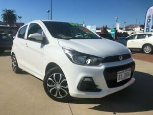 2017 Holden Spark MP MY18 LS White 5 Speed Manual Hatchback Victoria Park Victoria Park Area Preview