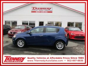 2014 CHEVROLET SONIC LT ONLY $10,777.00.AS LOW AS $89.00 B/W OAC